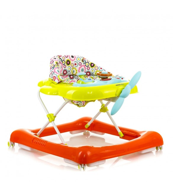Ходунки MiooBaby Walkers XA40 Green-Orange